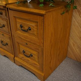 Winners Only - Heritage Oak Collection - 2 Drawer File