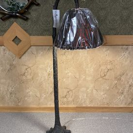 Victorian Heart - CFL1775 - Tree Trunk Floor Lamp