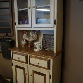 Fighting Creek - Amish - Primitive Lancaster Hutch
