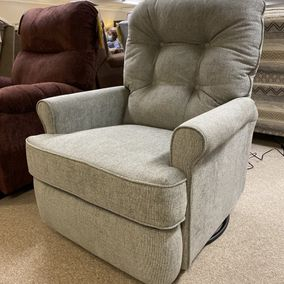 Best Home Furnishings - Carissa 1AP85 Power Swivel Glider Recliner