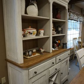 Liberty Furniture - Farmhouse Reimagined Collection - Buffet & Hutch