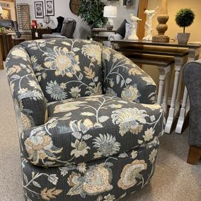 Smith Brothers - 986-56 Swivel Chair