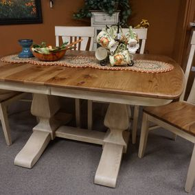 Amish - Ashley Double Pedestal Table & Chairs