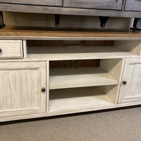 "Liberty - Farmhouse Reimagined Collection - 67"" TV Console"