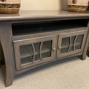 "Weavers Customer - Amish - Galveston 56"" TV Console"