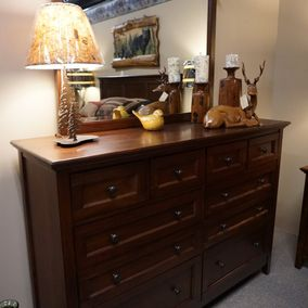 A'America - West Lake Bedroom Collection Dresser & Mirror
