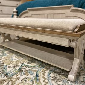 Liberty - Farmhouse Reimagined Collection - Bed Bench
