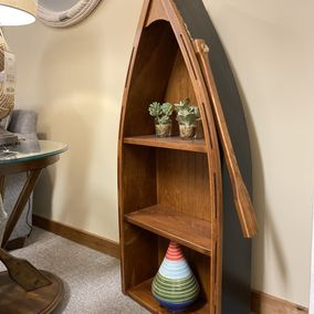 Fighting Creek - Amish - Boat Bookcase
